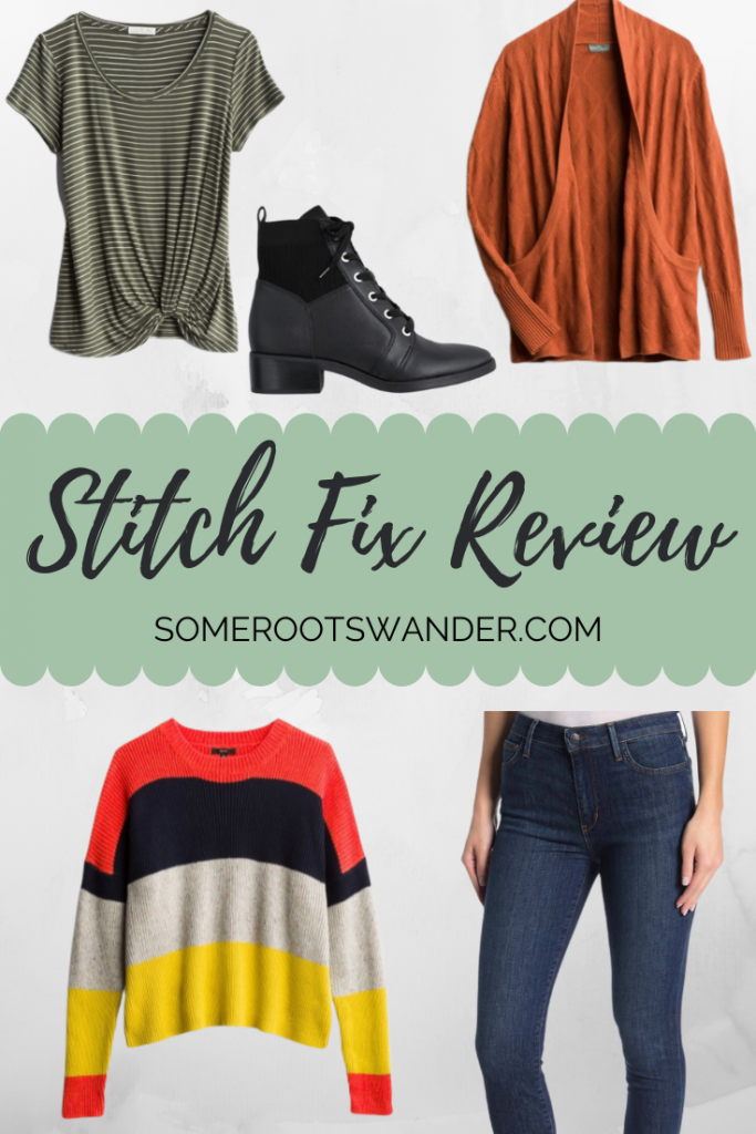 Winter 2019 Stitch Fix Review