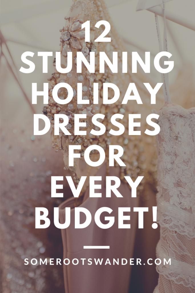 12 Stunning Holiday Dresses