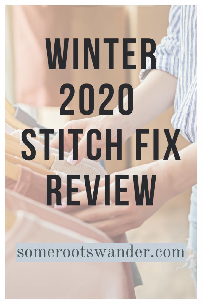 Winter 2020 Stitch Fix Review