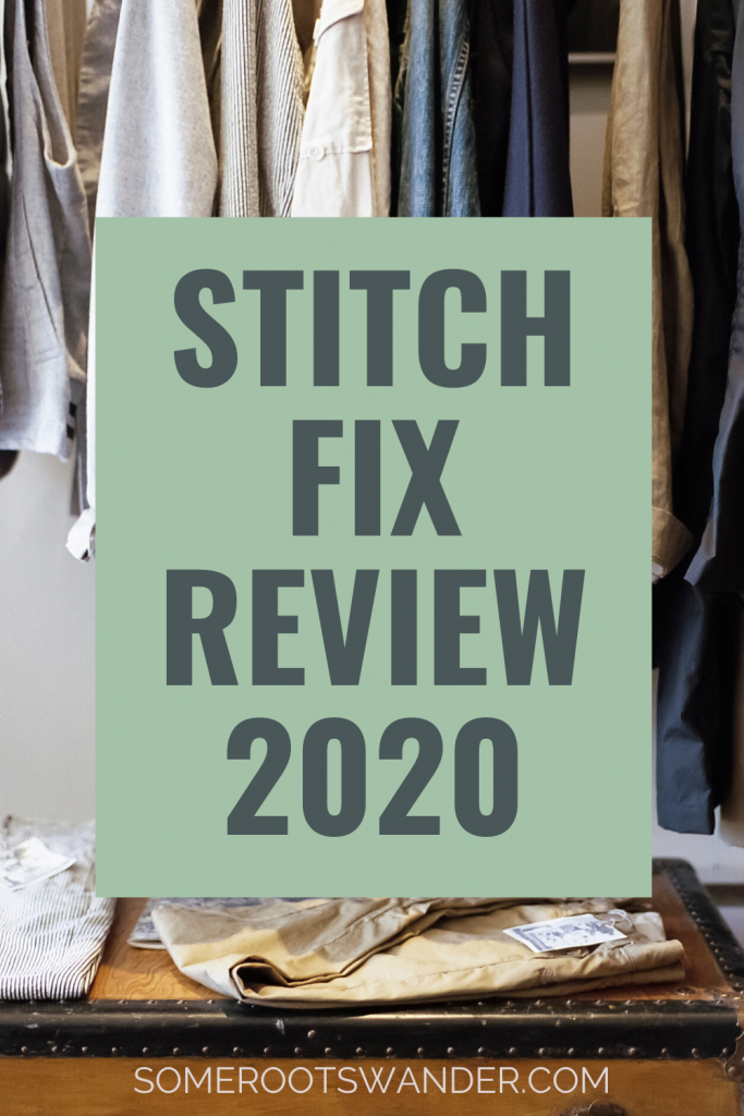Winter 2020 Stitch Fix Review
