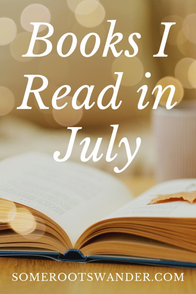 The Books I Read in July 2020